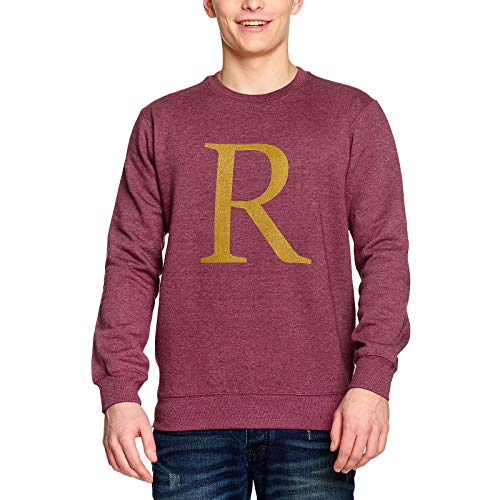 Harry Potter Sweater R for Ron Pullover rot - XL