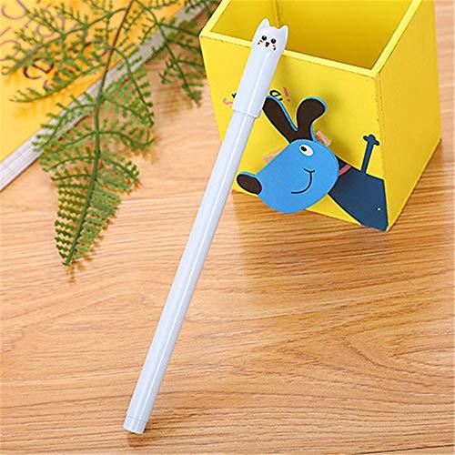 Kawaii - Bolígrafos de 0,5 mm para oficina, artículos de papelería, regalo para niños, estudiantes, amantes de los gatos, papelería, escuela, oficina