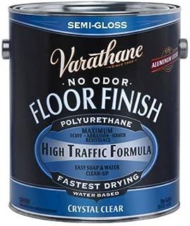 Varathane 230131 Crystal Clear Floor Finish, Semi-Gloss 1 Gallon