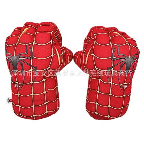 6P6 Kinder Plüsch Boxhandschuhe Cartoon Spider Green Riesige Fausthandschuhe Plüschspielzeug Männer Und Frauen Kreative Geschenke,3