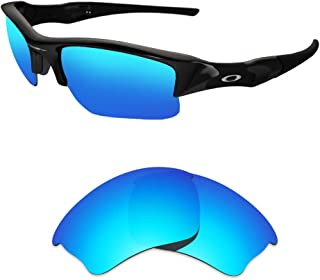 HEYDEFOAU Polarized Replacement Lenses for Oakley Half Jacket XLJ Sunglasses-Multi Options with Lens Cloth