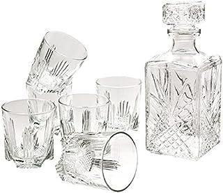 Selecta Whiskyset Whisky-Set 6 Gläser  Karaffe Italy Geschenk