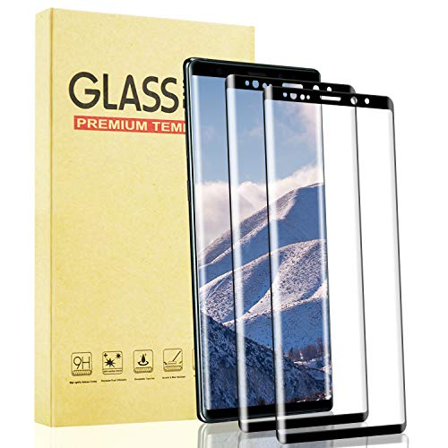 Lixuve 2 Unidades Protector Pantalla de Cristal Templado para Samsung Galaxy S9 Plus, Anti-Huella 9H Dureza Vidrio Templado Película Protectora para Samsung S9 Plus