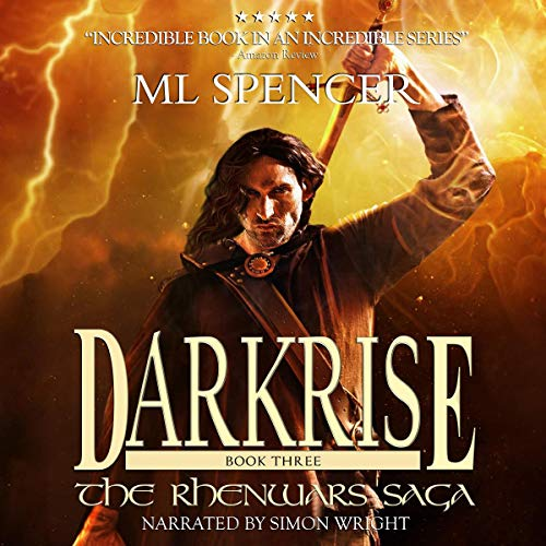 Darkrise audiobook cover art