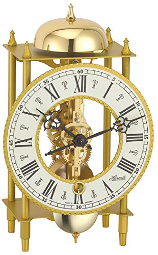 Hermle Uhrenmanufaktur Tischuhr, Gold