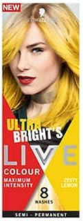 Live Colour Live Colour Ultra Brights Semi-Permanent Hair Colour, Zesty Lemon