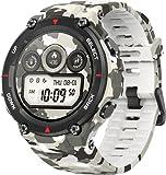 Amazfit Smartwatch T-Rex 1,3 Zoll Outdoor digitale Uhr wasserdichte Sportuhr mit...