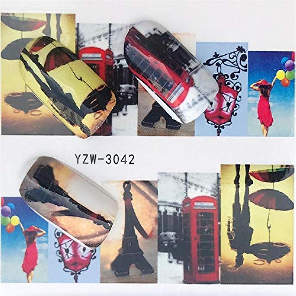 移植クランプエキスパートビューティー&パーソナルケア 5個水転写ステッカーデカールネイル用フラワーステッカー ステッカー&デカール