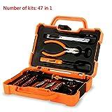 HWSDMW Reparatur-Combo Kit Home Werkzeuge Set Präzisionswerkzeuge Wit meisten erreicht Hausbesitzer Werkzeug-Kits geeignet Haus oder Büro Metric Schraubenschlüssel