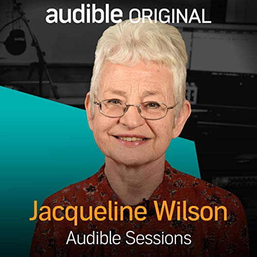Jacqueline Wilson audiobook cover art