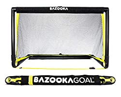 Bazooka Pop Up Style Portable Soccer Goal