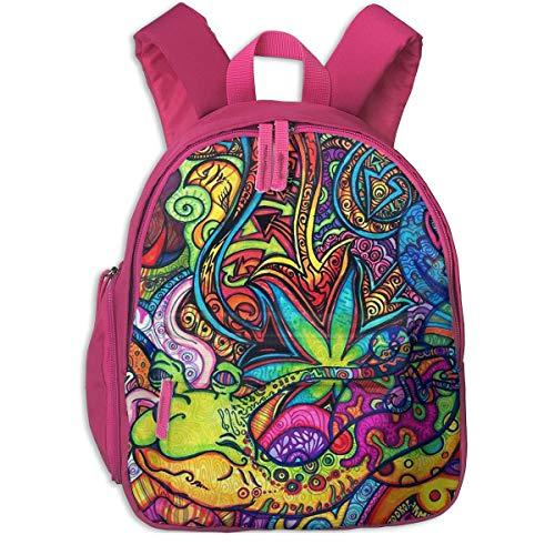 ADGBag Mochila para niños Cute Animal Cartoon Wallpaper Abyss Pocket Backpacks Backpack Schoolbag For Childrens Kids Children Boys Girls