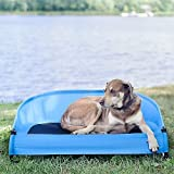 Gen7Pets Cool-Air Cot for Pets Up to 90 lb, Trailblazer Blue by...