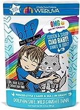 B.F.F. Omg - Best Feline Friend Oh My Gravy!, Ciao Baby! With Chicken & Shirmp In Gravy Cat Food By Weruva, 2.8Oz Pouch (Pack Of 12)