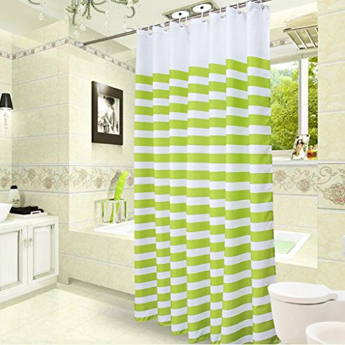 Les rideaux en polyester de rideaux de douche d'épaississement imperméabilisent les rideaux imperméables de coupe de Mildewproof ( taille : 80*180cm )