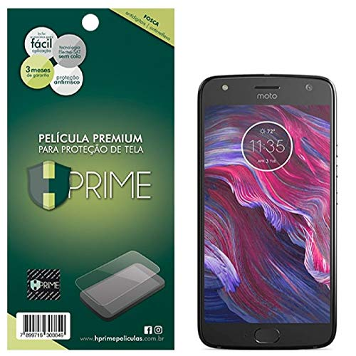 Pelicula Hprime Fosca para Motorola Moto X4, Hprime, Película Protetora de Tela para Celular, Transparente