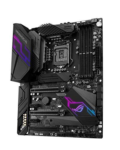 Asus Rog Maximus Xi Hero Wi-Fi Intel Z390 Atx Scheda Madre Gaming, DDR4 4400Mhz, M.2, Sata 6 Gb/S, USB 3.1, Nero + ROG Strix GeForce®RTX 2080 SUPER™ 8GB GDDR6, Dissipatore Triventola, Aura Sync