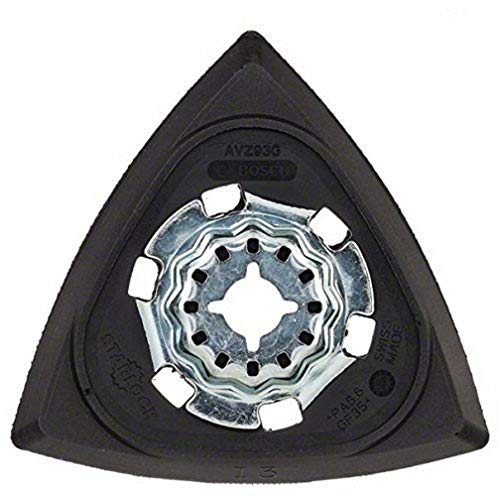 Placa de lijado AVZ93G Bosch 2609256956 para todas las herramientas múltiples de...
