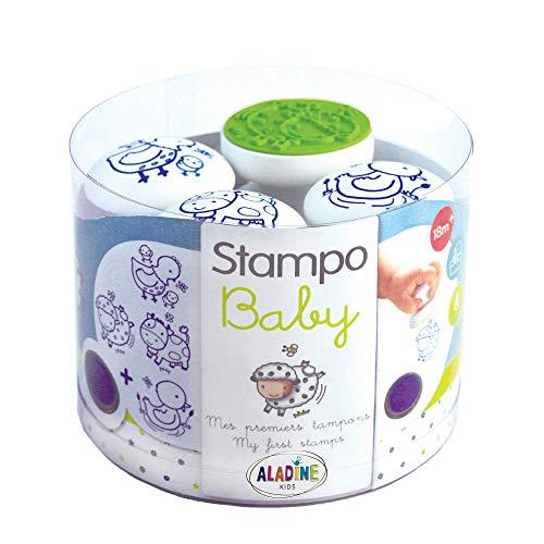 Aladine - 3802 - Loisir Créatif - Stampo Baby - Ferme