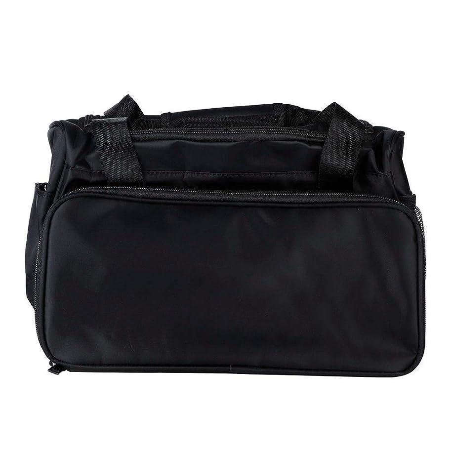 マオリ寝室中世の理髪バッグ、プロフェッショナルサロン理容スタイリストはさみくし髪化粧品ツール大容量オーガナイザートラベル荷物ポーチ、アクセサリーポケット付き、両手用またはショルダーキャリー用