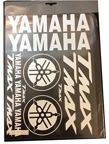 Aufkleber-Set Yamaha T-Max transparent