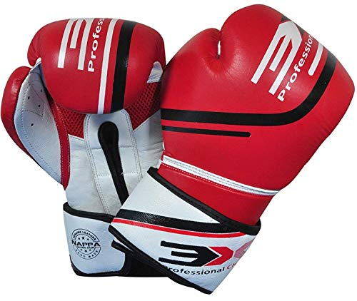 3X Professional Choice 3XSports Boxhandschuhe Rindsleder Muay Thai Boxsack Mitts Kickboxen Sparring UFC Martial Arts Training