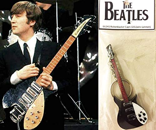 Schlüsselanhänger Gitarre Rickenbacker 325 Capri John Lennon The Beatles