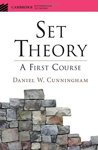 Compare Textbook Prices for Set Theory: A First Course Cambridge Mathematical Textbooks 1 Edition ISBN 9781107120327 by Cunningham, Daniel W.