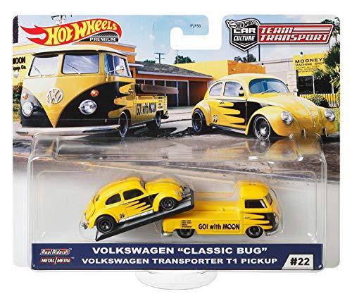 Hot Wheels Premium Car Team Transport - Car Culture (#22 - Volkswagen Classic Bug +...