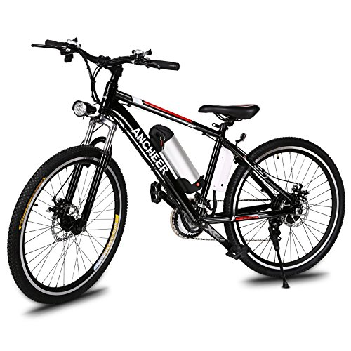 ANCHEER Power Plus Electric Mountain Bike, 26'' Electric...