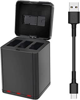 TZOU 1100mAh Battery Charger for DJI Tello Drone Smart Intelligent Charging Hub RC Model Multi-Battery Quick Charging Black