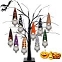 Yxiaojie 10-Pieces Halloween Decorations Gnome Ornaments Set