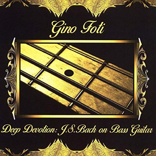 Toccata and Fugue in D Minor, BWV 565 (Arr. for 4 Bass Guitars by Gino Foti)