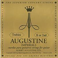 【国内正規品】バラ弦 AUGUSTINE オーガスティン クラシックギター弦 IMPERIAL 2弦(B)