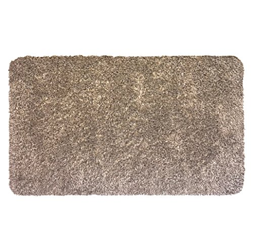 The Magic MAT - Super Absorbent Door MAT That Stops Dirt at The Door, Non Slip, Low Profile, Machine Washable, Durable, Great for Dogs, Cats, RV, Boat & More! Runner Brown