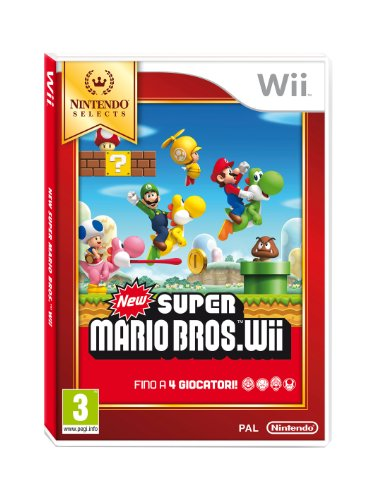WII SELECT NEW SUPER MARIO BROS