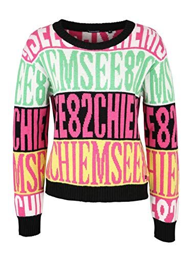 Chiemsee - Maglione con Stampa White/Pink AOP L