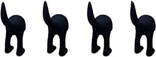 IKEA Bastis (BÄSTIS) dog cat pet leashes two loaded four loaded six mounted hanger hook a variety of colors(4*BLACK)