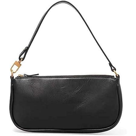 Damen Schultertasche Krokodilmuster Leder Unterarm-Paket Frauen Clutch Bag, Retro Krokoprägung Schultertasche Handtaschen
