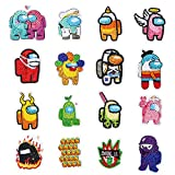 5D DIY Diamond Painting Stickers Kits for Kids, Game Us Diamond Art Mosaic Stickers by Numbers Kits Crafts Set for Children, Boys and Girls,Creative Handmade Art Craft Gift(Cartoon Among)