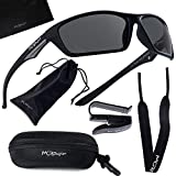 Polarized Sports Sunglasses for Men and Women - UV400 Protection and Glare...