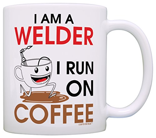 Coffee mug funny welder gift idea