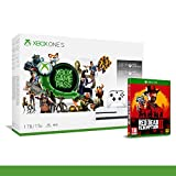 Xbox One S 1TB + 3 Mesi Gamepass + 3 Mesi Xbox Live Gold [Bundle] + Red Dead Redemption 2