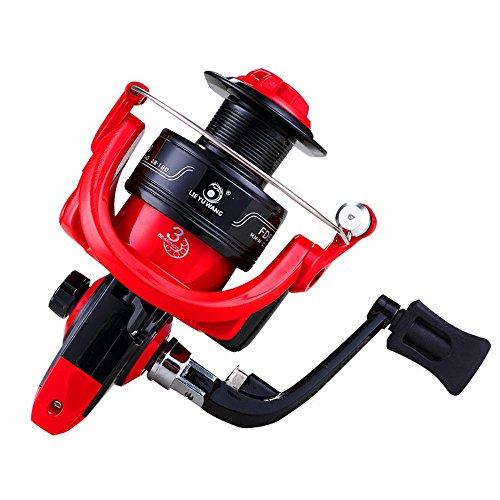 IBalody Carretes de Pesca de Alta Velocidad 5.0: 1 Bait Plegable Rueda giratoria Carrete de Pesca (Color : 6000)