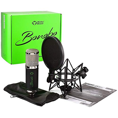 Monkey Banana Bonobo - Kondensatormikrofon, schwarz