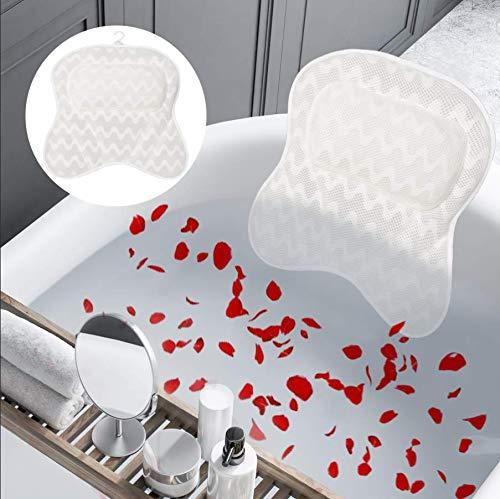 Bath Pillow Oakland Mall Ergonomic Super-cheap Spa Tub for C Support Neck Head and