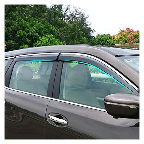 Windabweiser Für Nissan X-Trail T32 2014 2015 2016 Auto Seitenfenster Regen Deflektor Wächter Visier Wetter Türfarbe Hxjh Autofenster Regenschutz