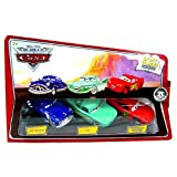 Disney / Pixar CARS Movie 1:55 Die Cast Story Tellers Collection 3-Pack Doc Hudson, Flo and Sponsorless McQueen by Disney