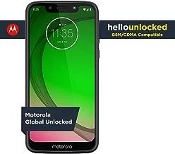 Moto G7 Play - Unlocked - 32 GB - Deep Indigo (US Warranty) - Verizon, AT&T, T-Mobile, Sprint, Boost, Cricket, & Metro - PAE80011US