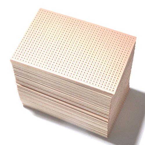 Vero-Streifenrasterplatine, 64 mm x 95 mm, 25 Stück
